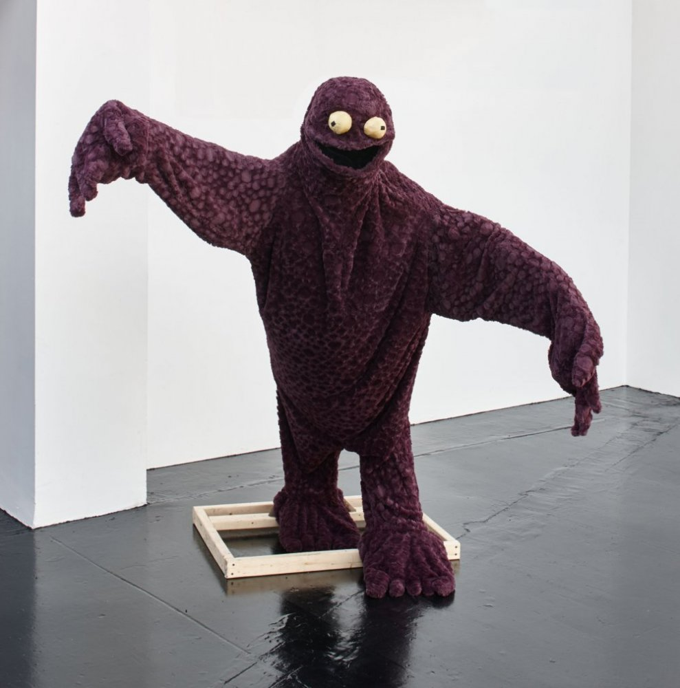 Stefan Tcherepnin, 'Cuddle Monster' (2014) Install view. Courtesy the gallery Ellis King, Dublin.