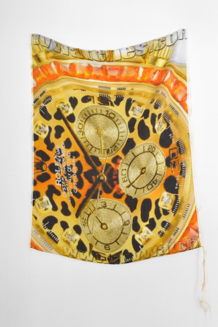 Fabienne Hess, 'Rolex Leopard Replica' (2014). Courtesy of the artist and French Riviera, London. Photo by Kris Emmerson.