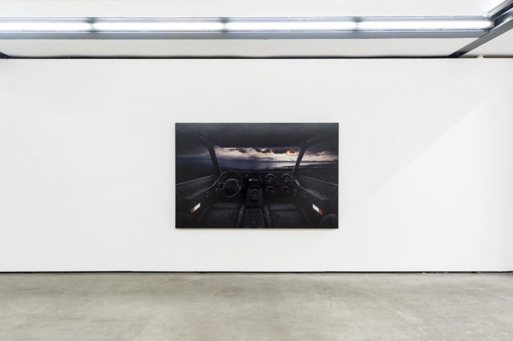 Luis Gispert, 'Chanel Jetty' (2011) Install view. Courtesy the artist and Franz Josefs Kai 3, Vienna.